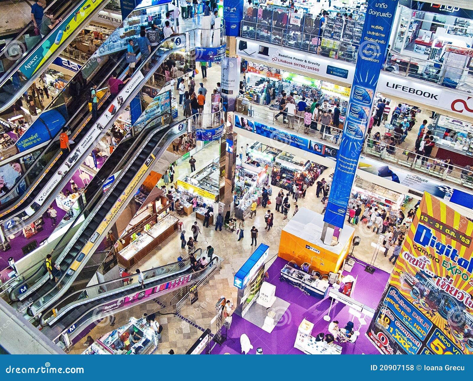 Centrum handlowe zakupy