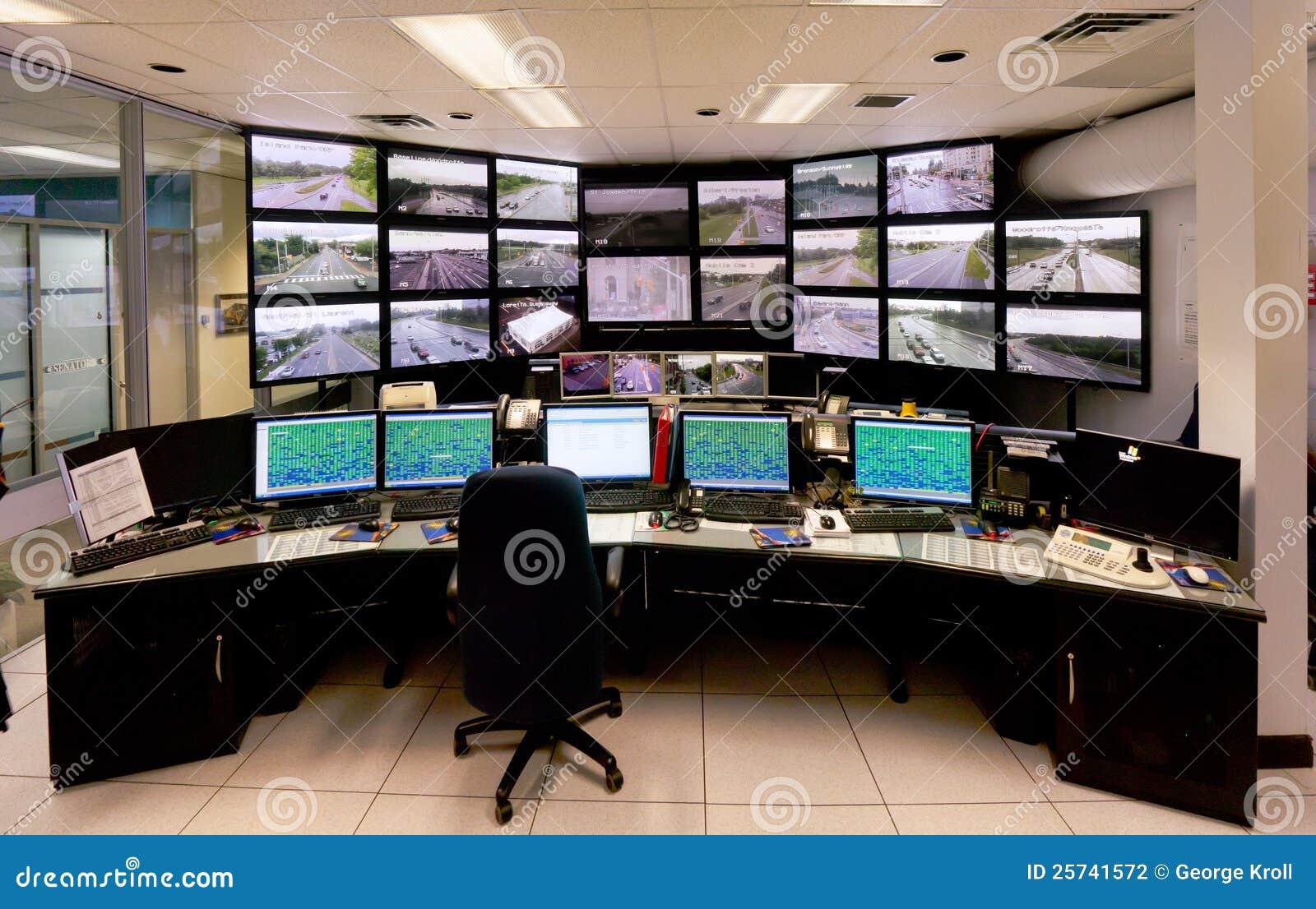 Centrum rozkazu kontrola ruch drogowy