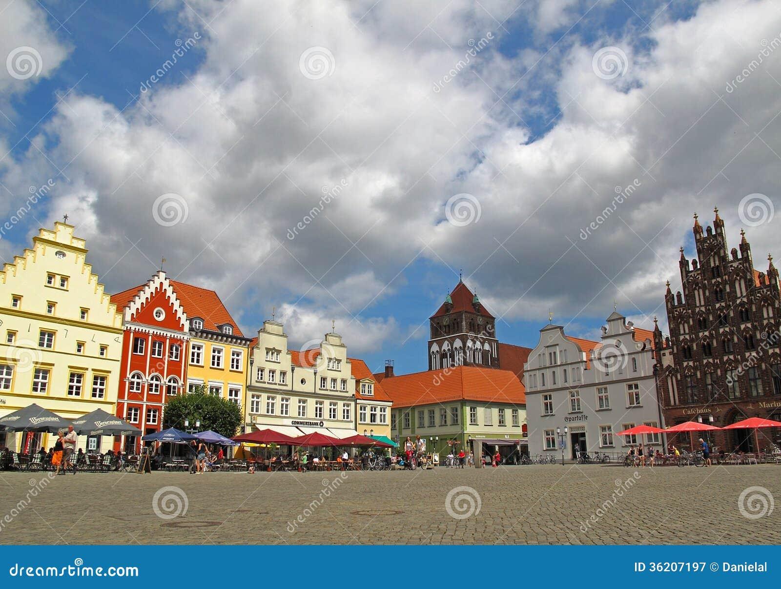 Centrum van Greifswald