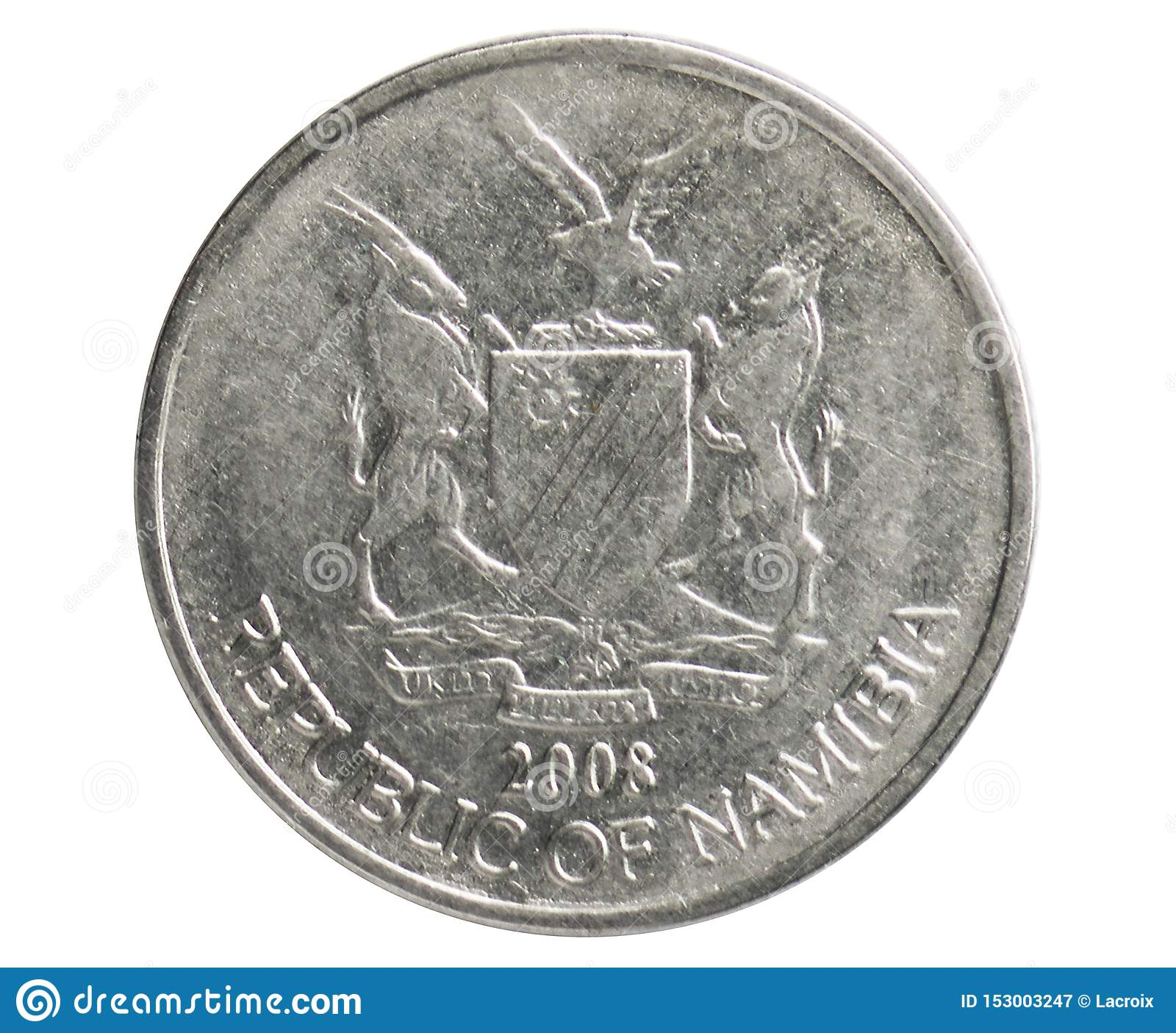 50 Cents coin, 1993~Today - Circulation serie, Bank of Namibia