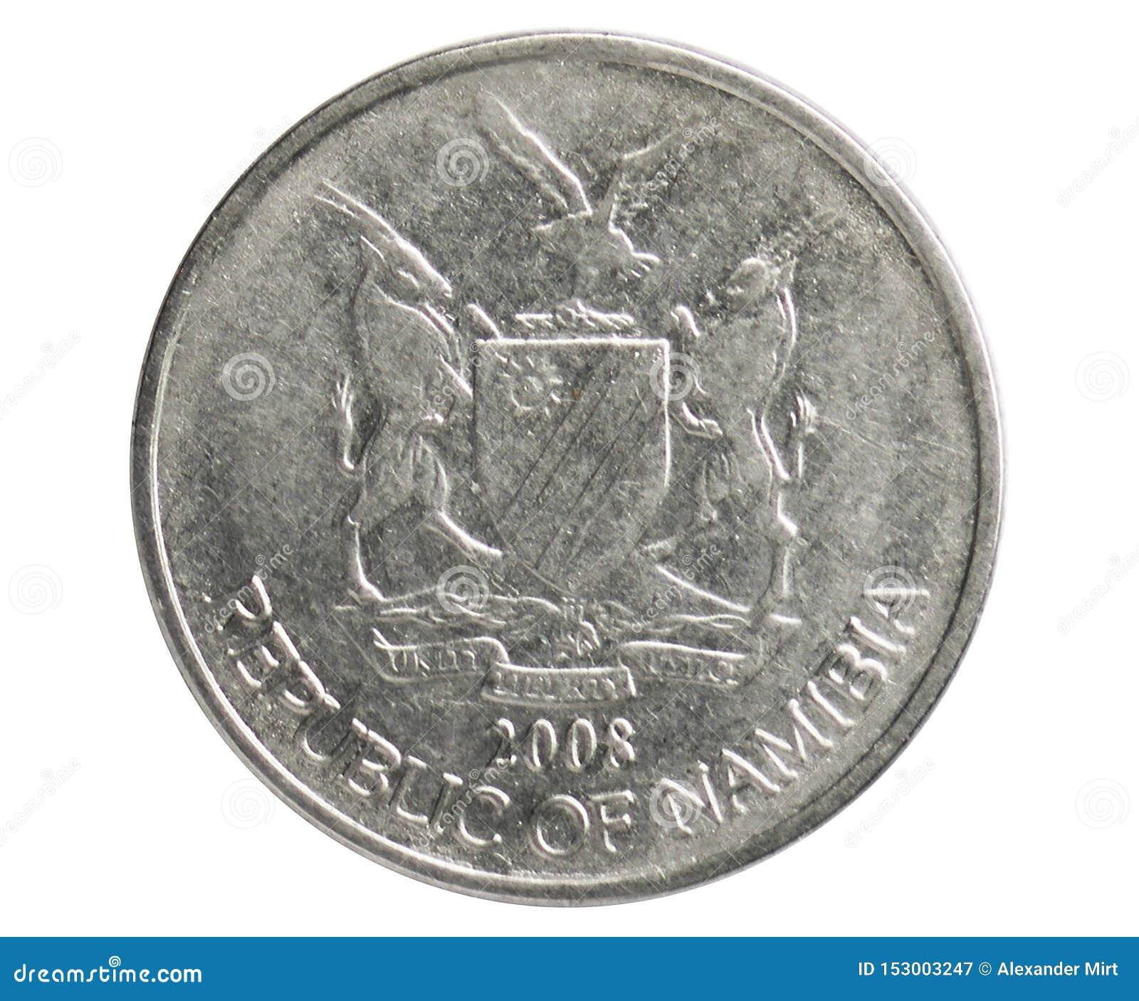 50 Cents prägen, 1993~Today - Zirkulation serie, Bank von Namibia
