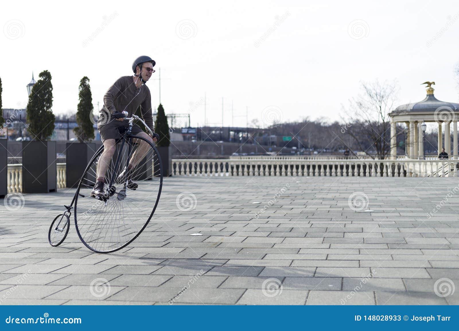 Centu Farthing bicykl w Filadelfia