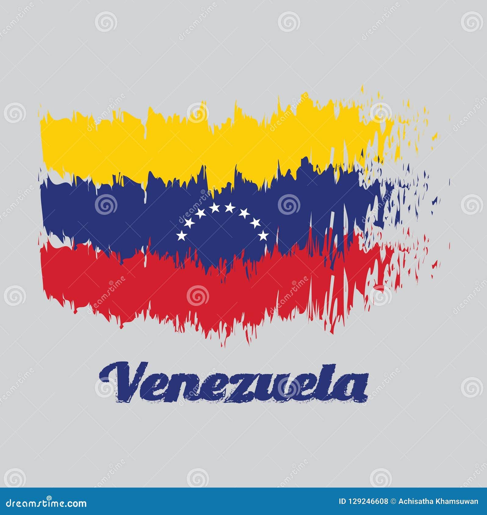 Bandera blanca con banda azul y estrella roja