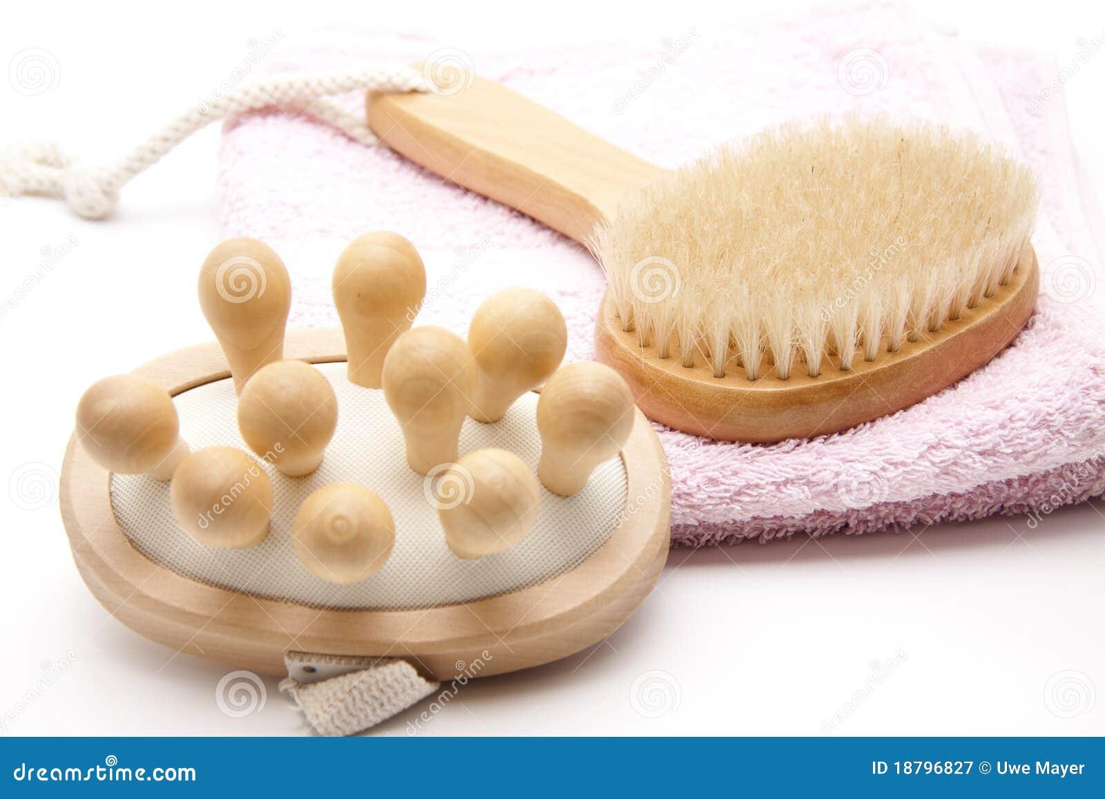 Cepillo del masaje para la salud