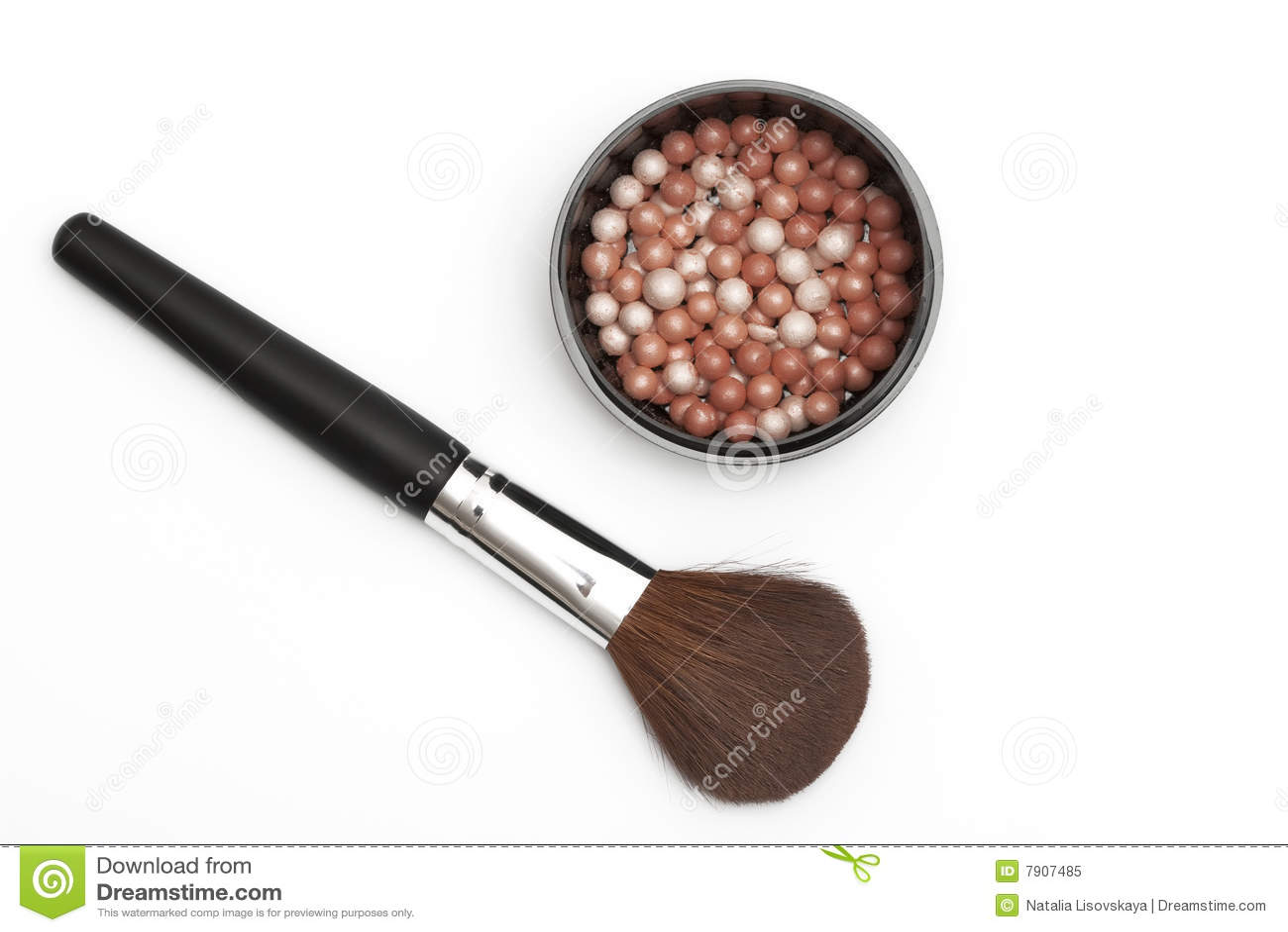 bolas de maquillaje