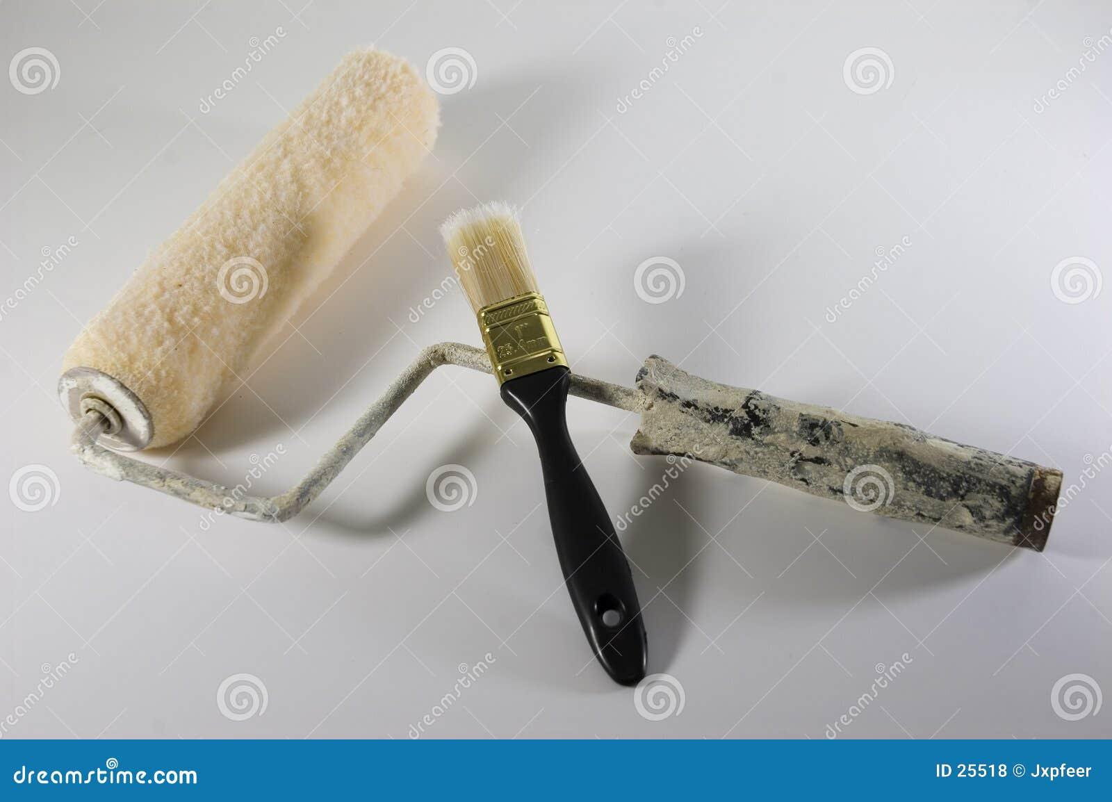 Cepillo y rodillo