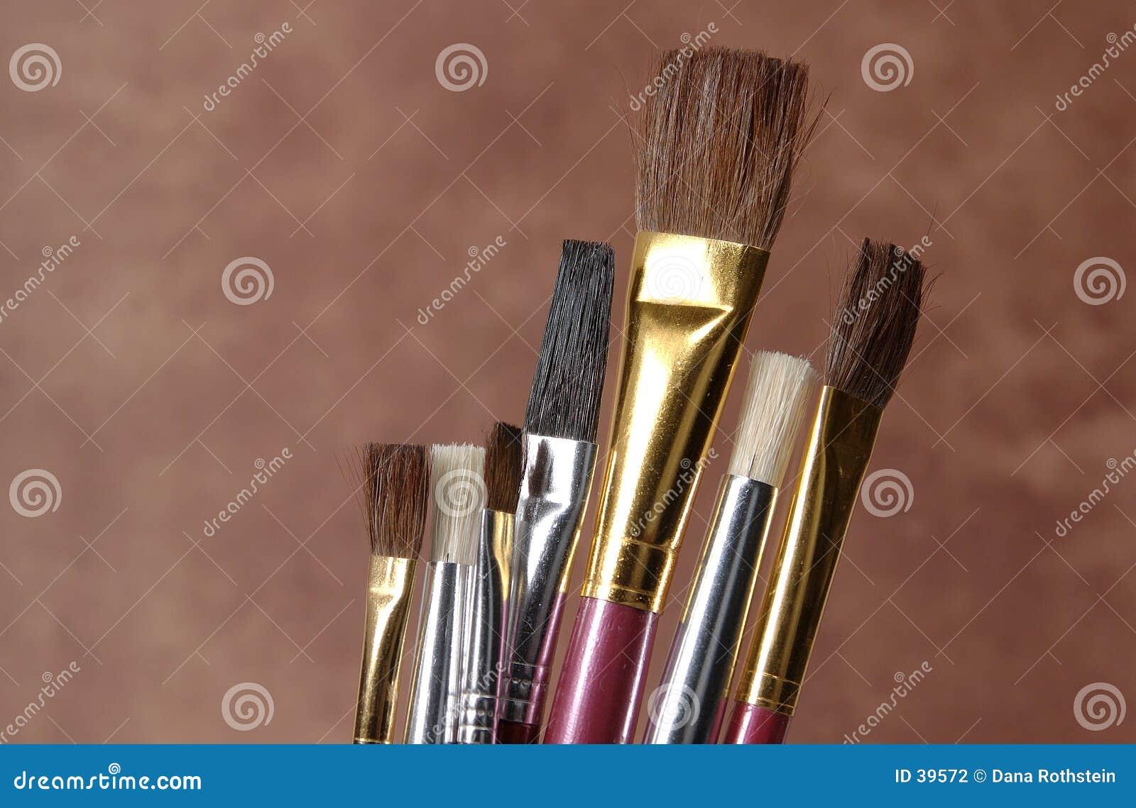 Cepillos de pintura