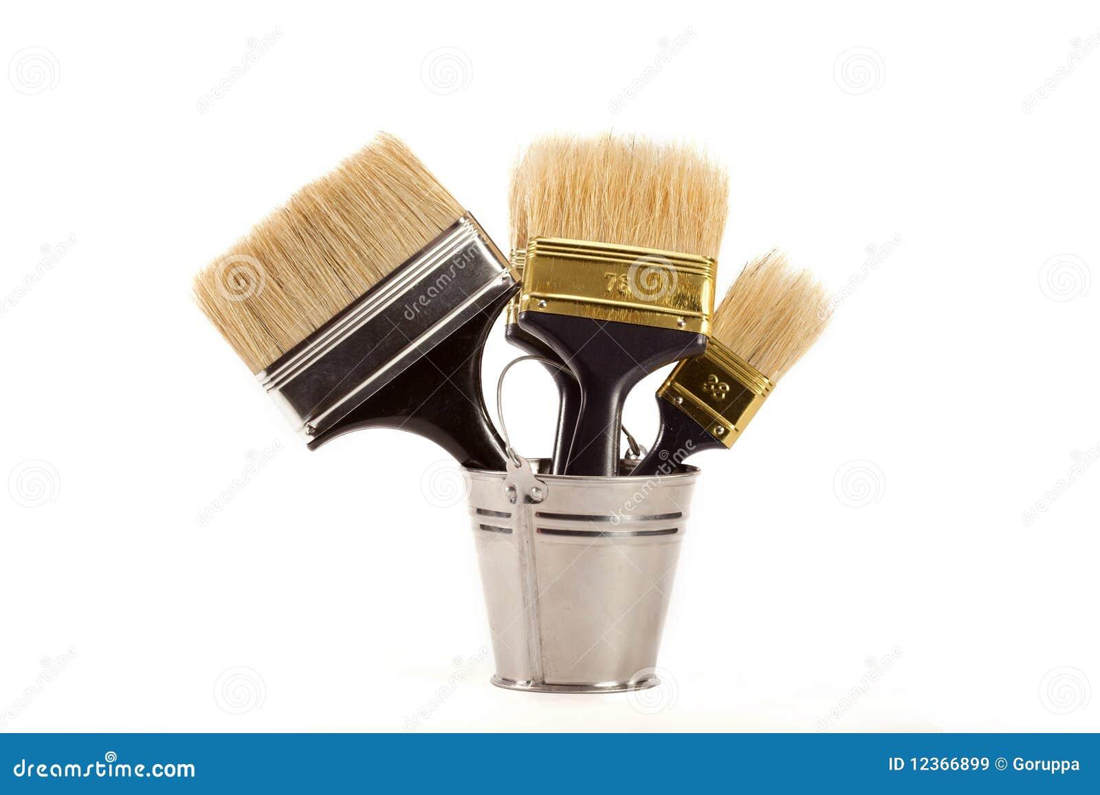 Cepillos para la pintura