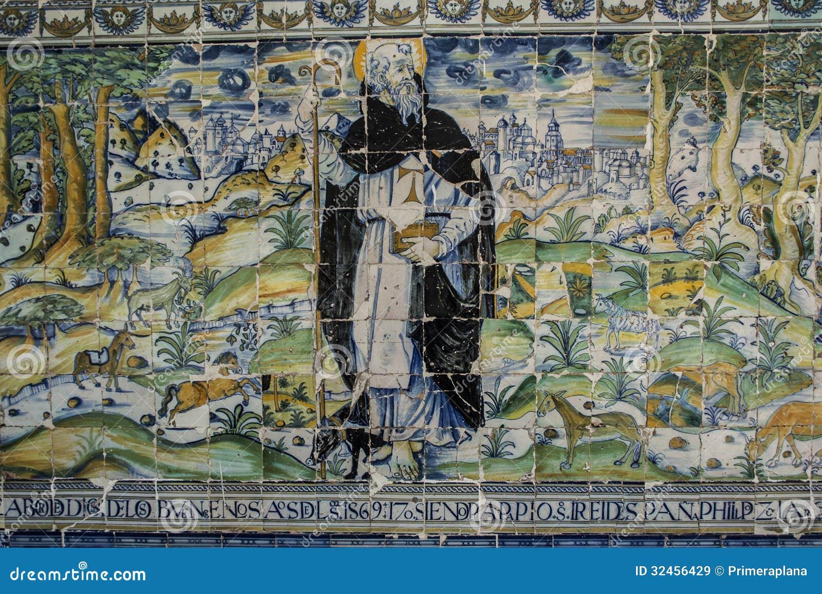 Cer mica de talavera tejas basilica del prado talavera for Calle prado 8 talavera dela reina
