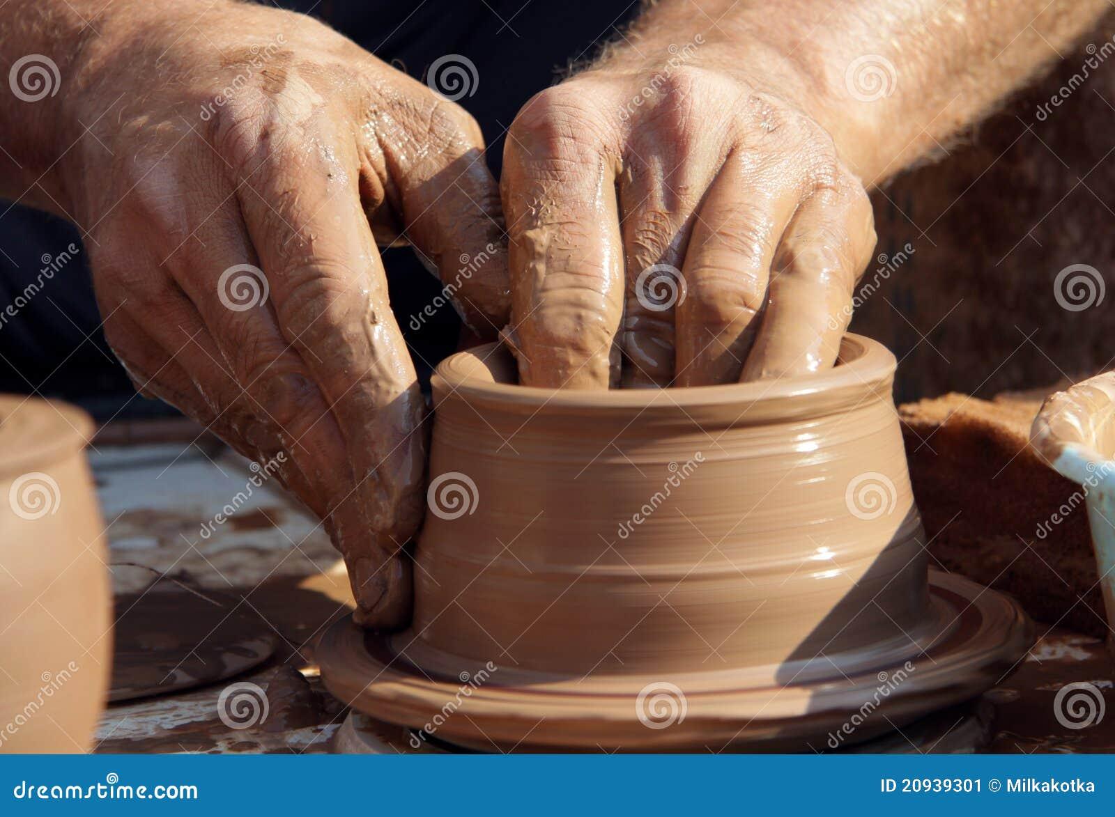 Cer mica el proceso de fabricaci n de las mercanc as de for Arcilla para ceramica