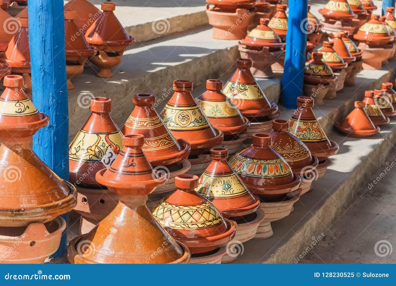 Cerámica marroquí del tajine para la venta