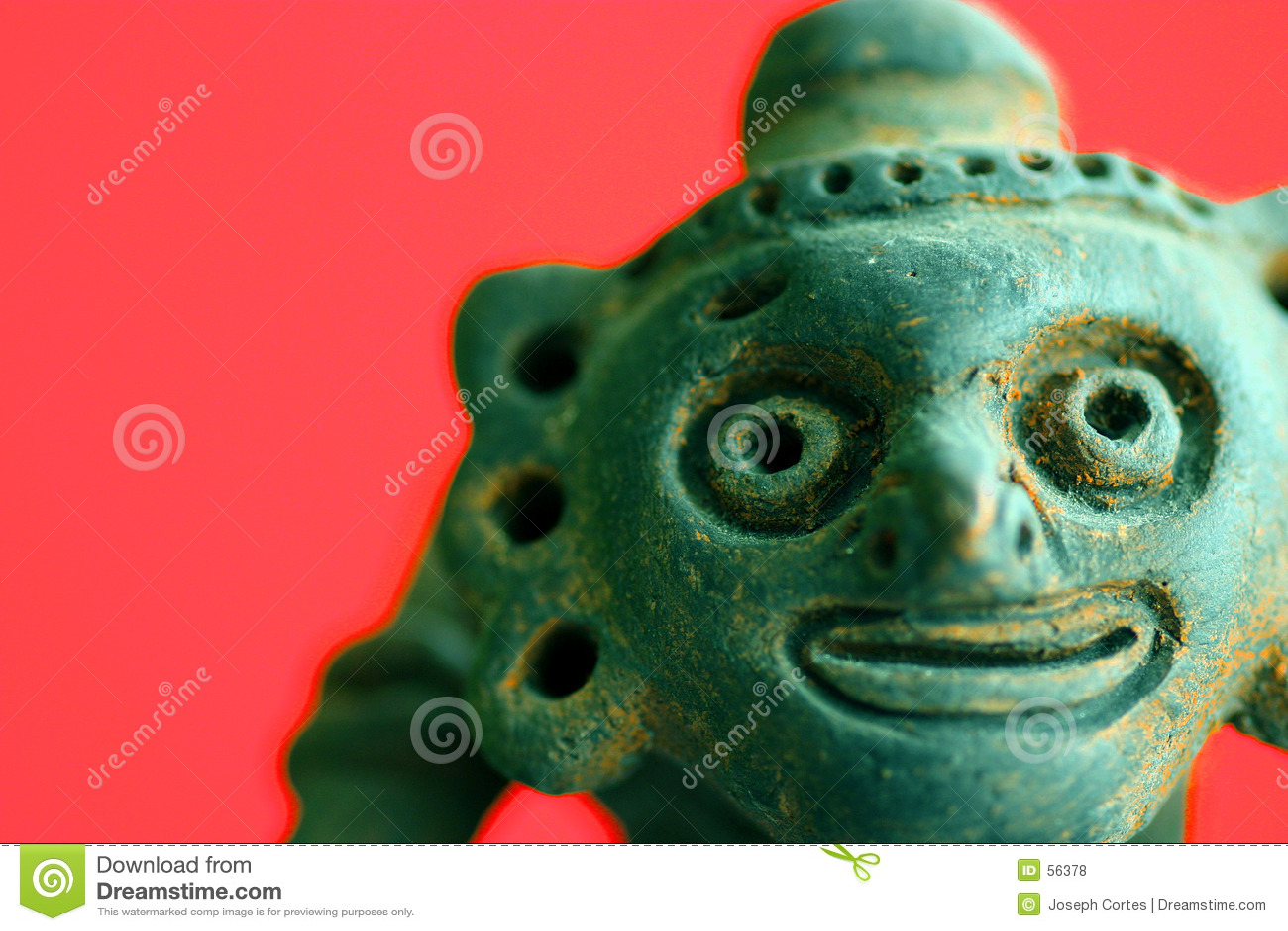 Cerâmica africana engraçada