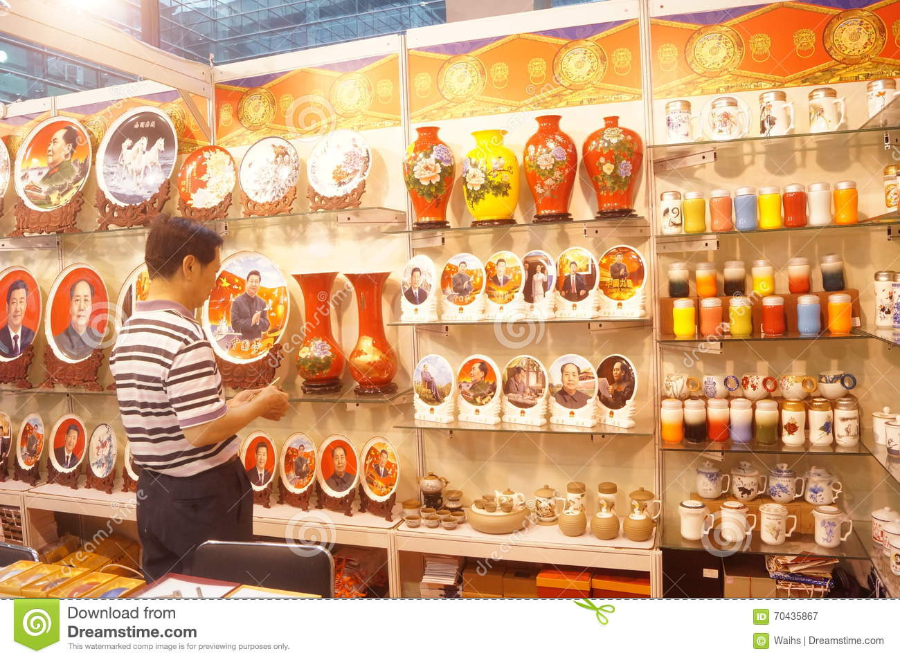 Ceramic arts and crafts exhibition sales editorial for International arts and crafts