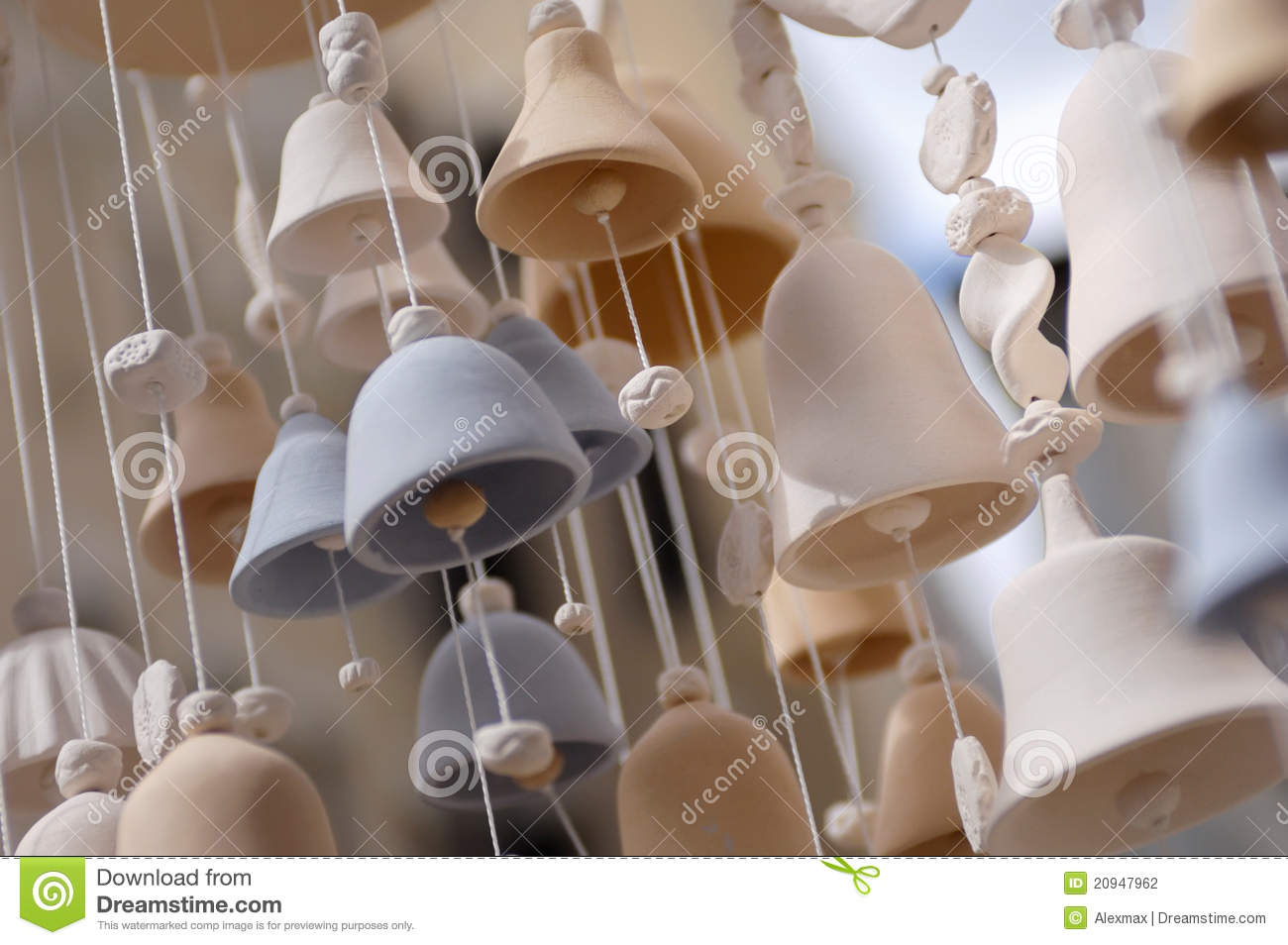 Ceramic Bells Stock Photography Image 20947962