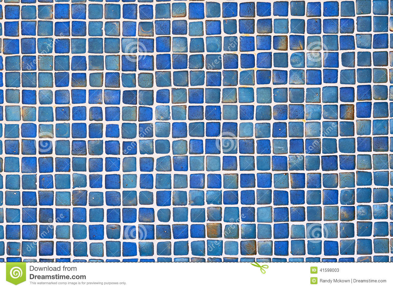 Ceramic Blue Tile Wall Background Stock Image Image Of