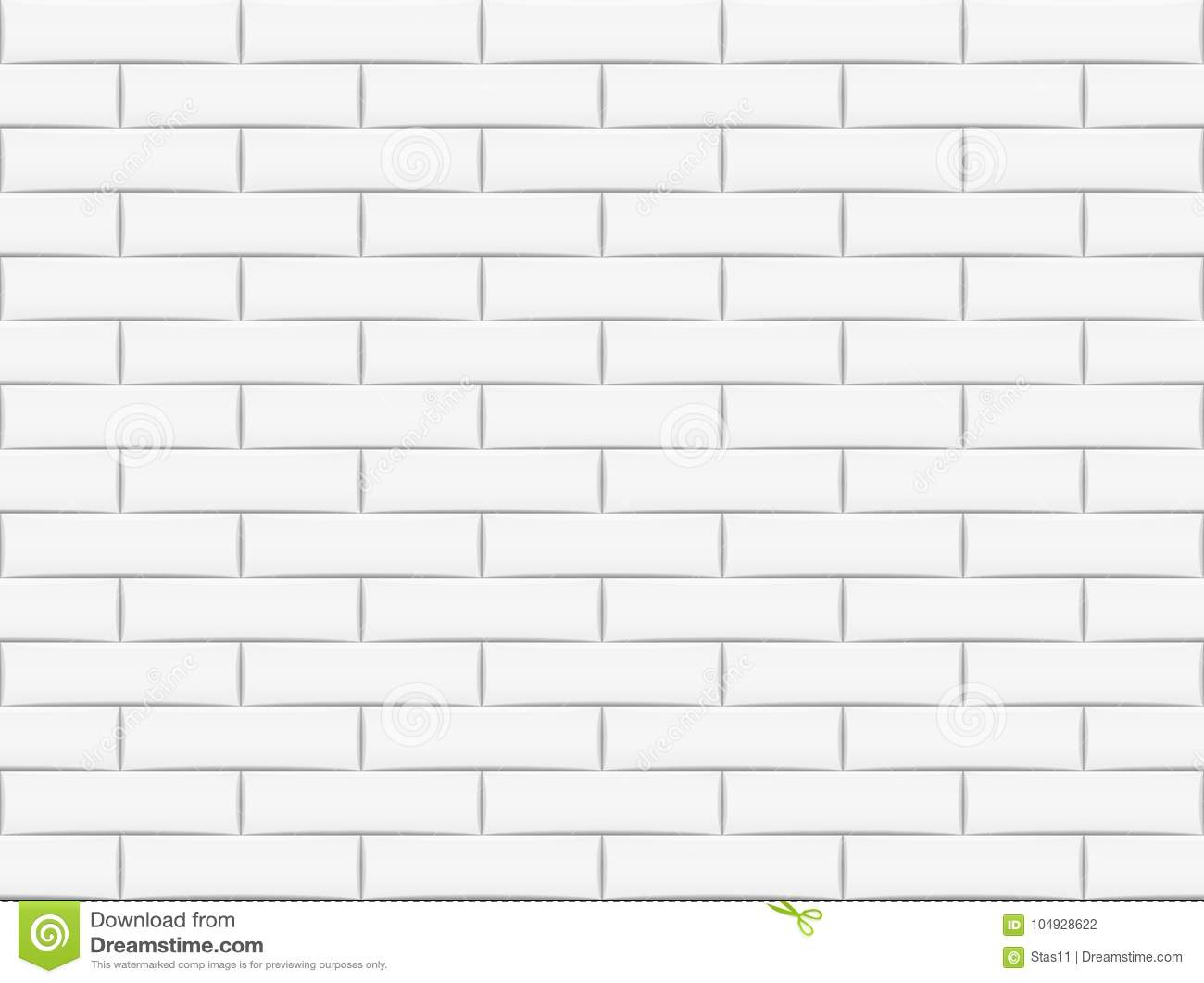 Brick Vector Picture Brick Veneers: Ceramic Brick Tile Wall. Vector Illustration. Eps 10 Stock