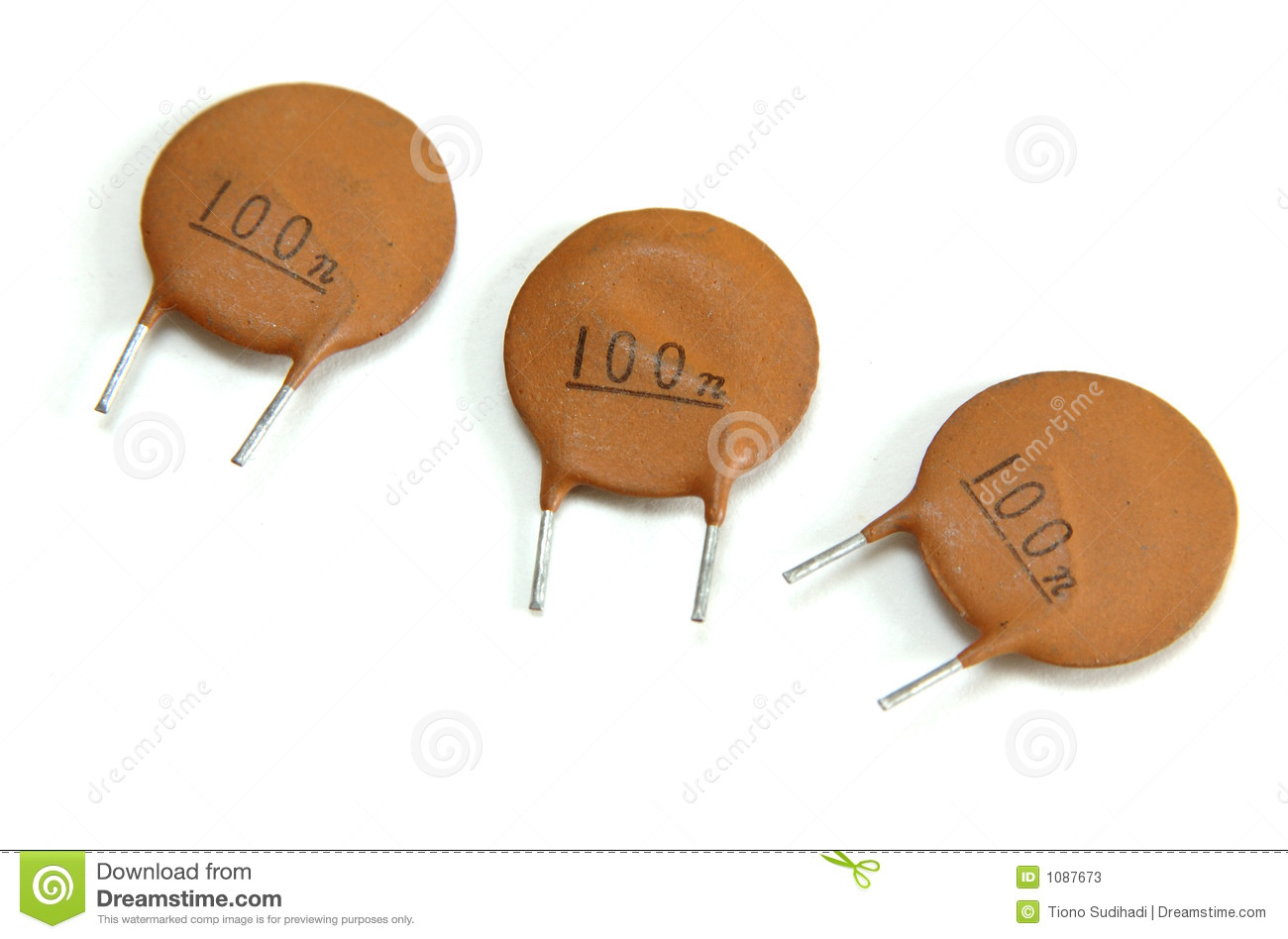 Ceramic Capacitor Stock Image Image Of Farad Electronic