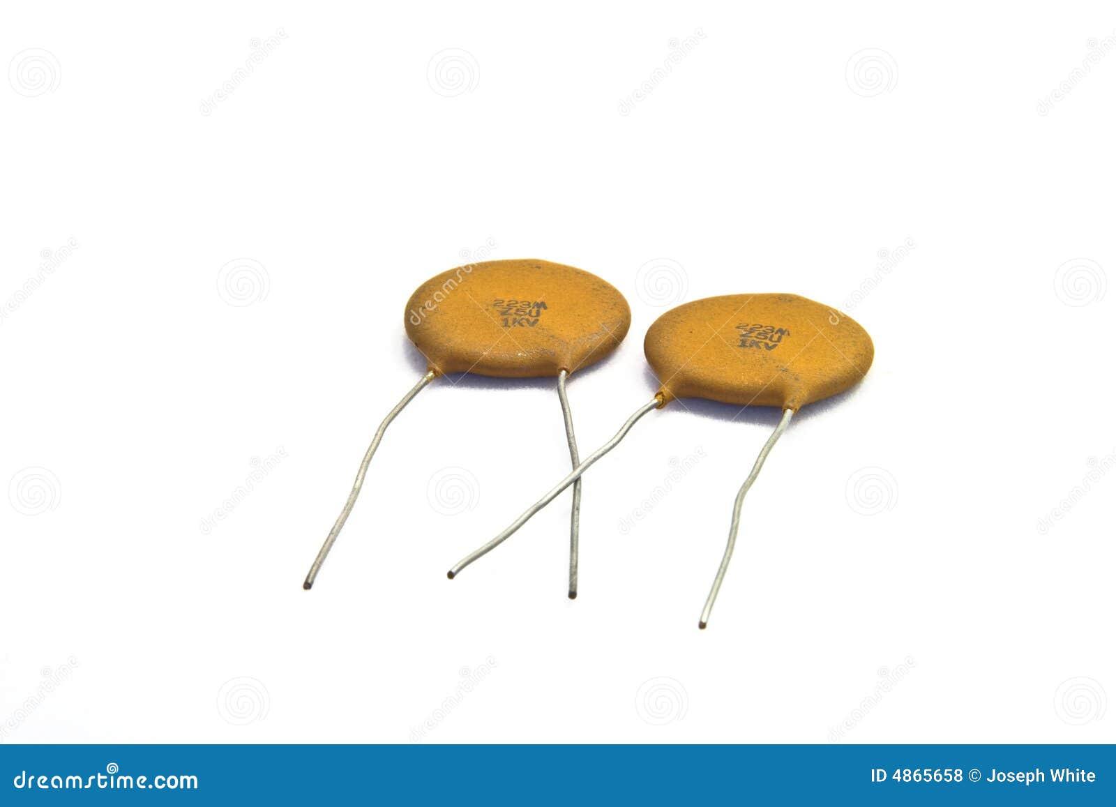 Ceramic Capacitors Royalty Free Stock Photos Image 4865658