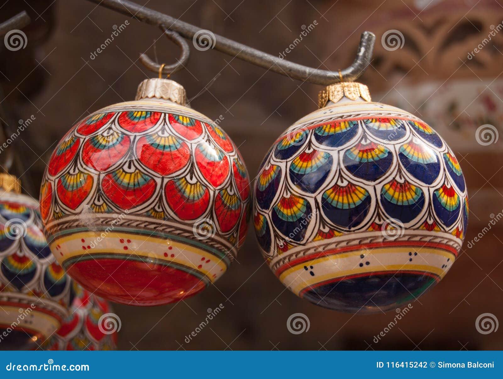 Ceramic And Decorative Balls Stock Photo Image Of Human Pitchers