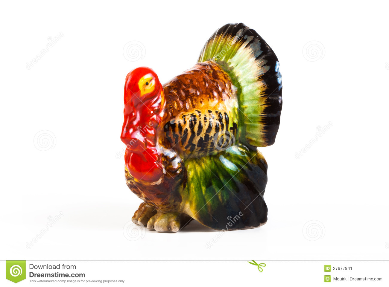 ceramic decorative turkey stock image image 27677941 Salt and Pepper Shakers Salt and Pepper Shakers