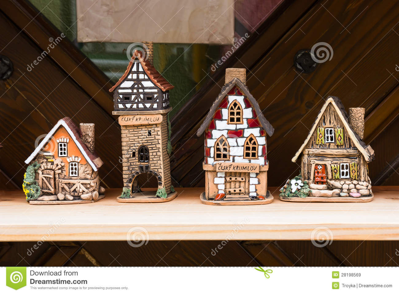 Ceramic Houses Stock Image Image Of Earthen House