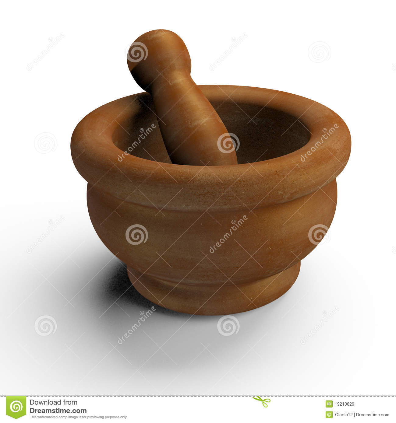 how to clean a ceramic mortar and pestle