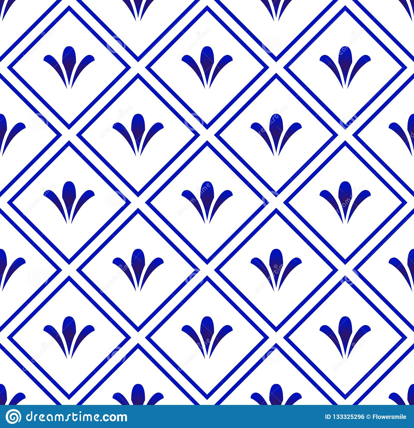 Ceramic pattern background