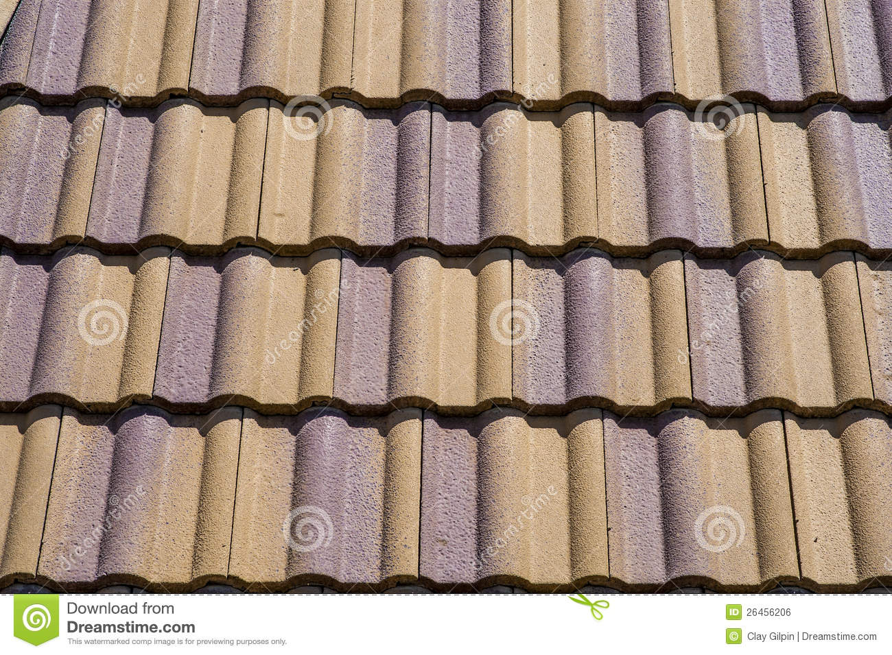 Ceramic roof tiles stock photo image of tiles roof for Spanish style roof tiles