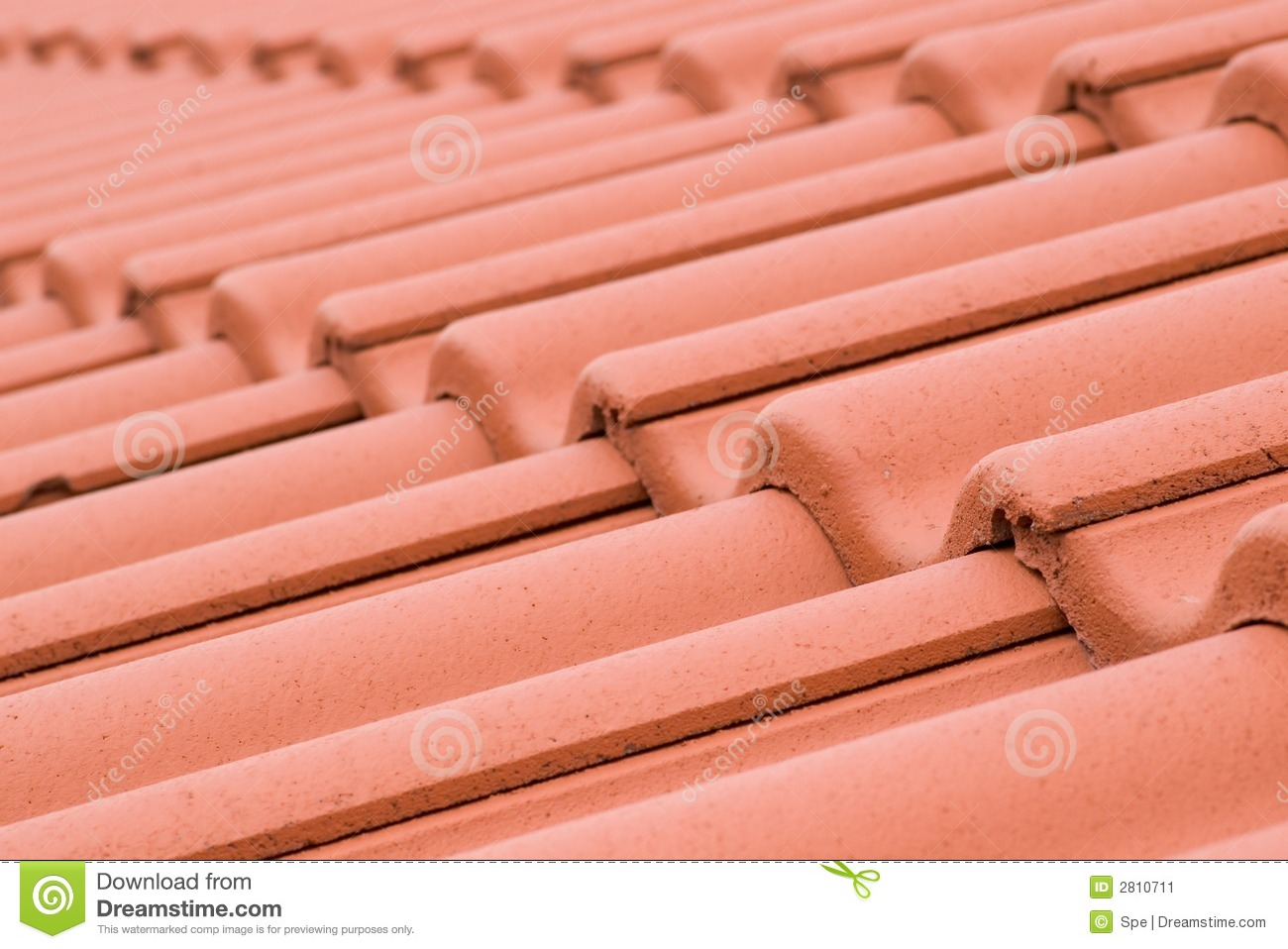Ceramic Roofing Tiles Stock Image Image Of Building Effect 2810711