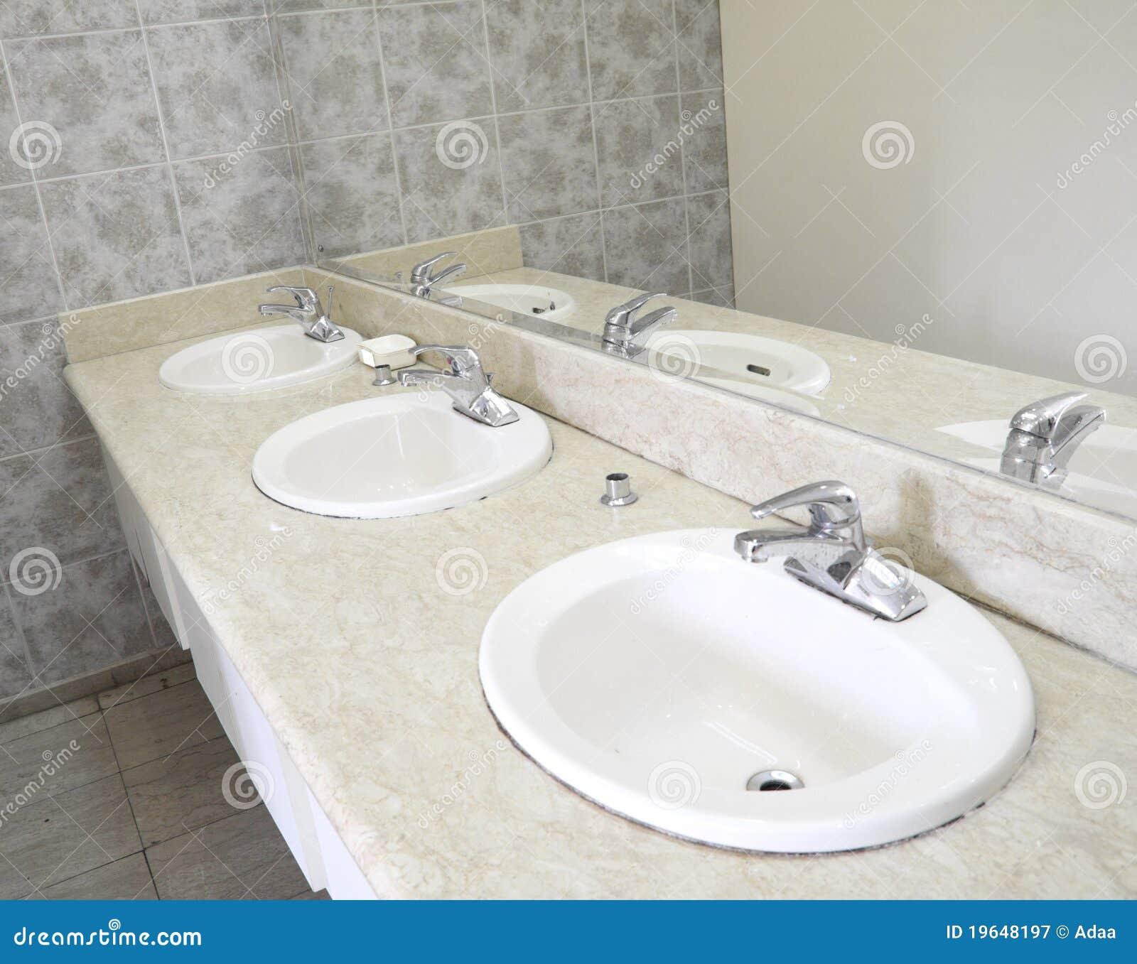 Ceramic sanitary ware bathroom royalty free stock for Bathroom ware