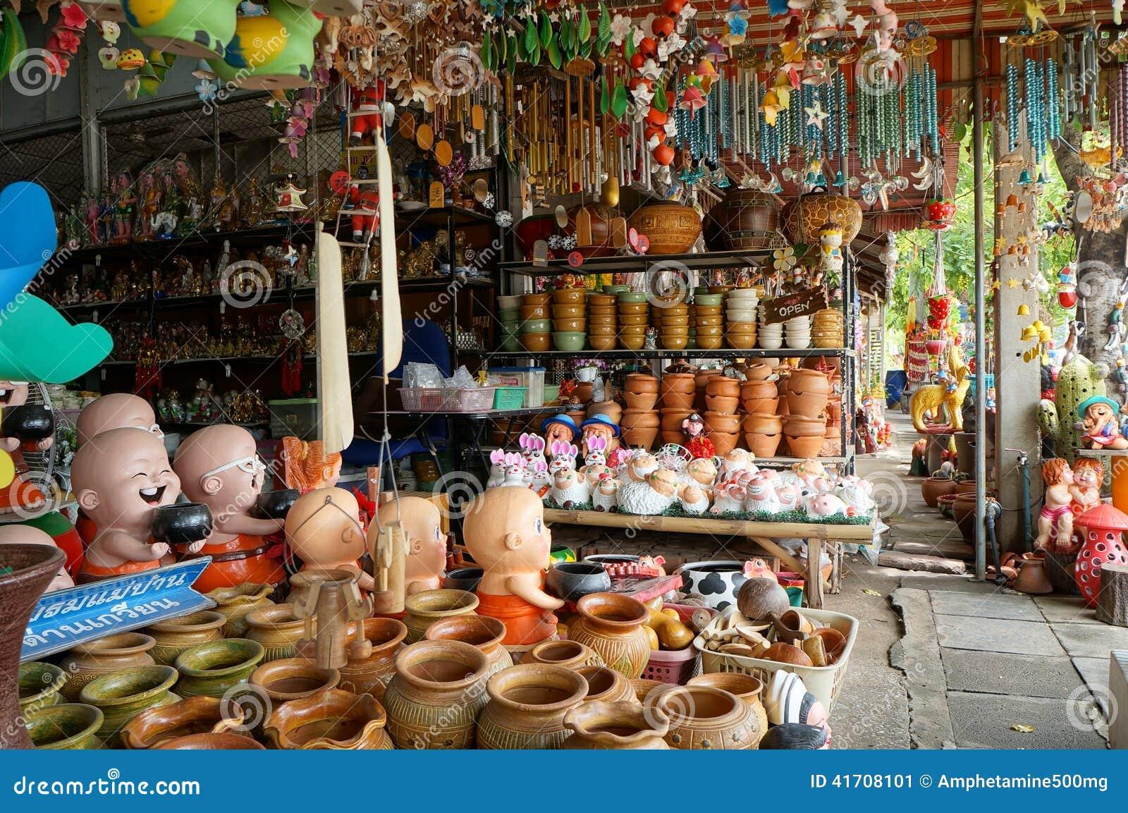 Editorial Stock Photo. Ceramic Shop In Thailand Editorial Photo   Image  41708101