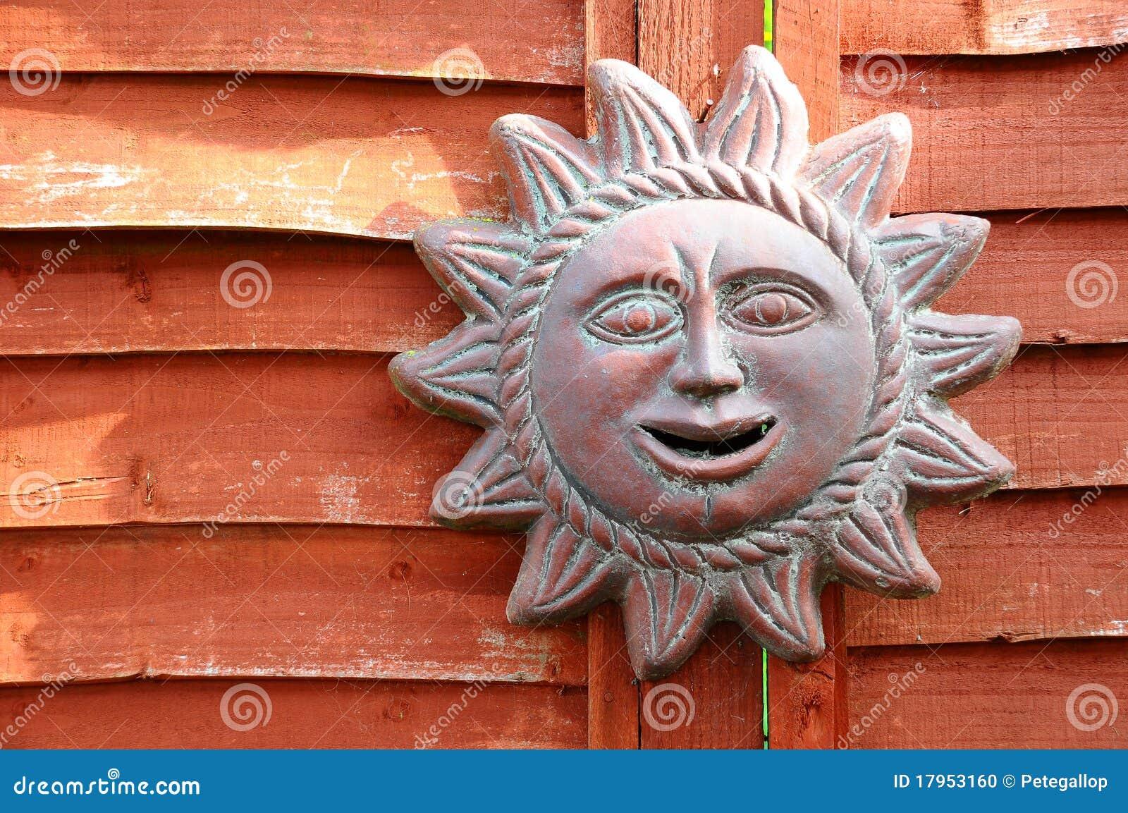 Ceramic Sun Stock Photo Image 17953160