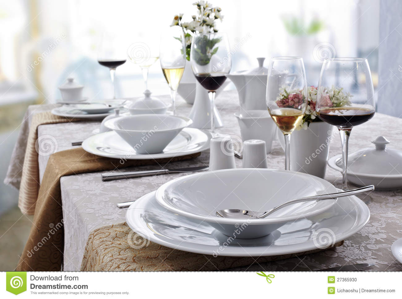 Ceramic Tableware Stock Photo Image 27365930 : ceramic tableware 27365930 from www.dreamstime.com size 1300 x 967 jpeg 123kB