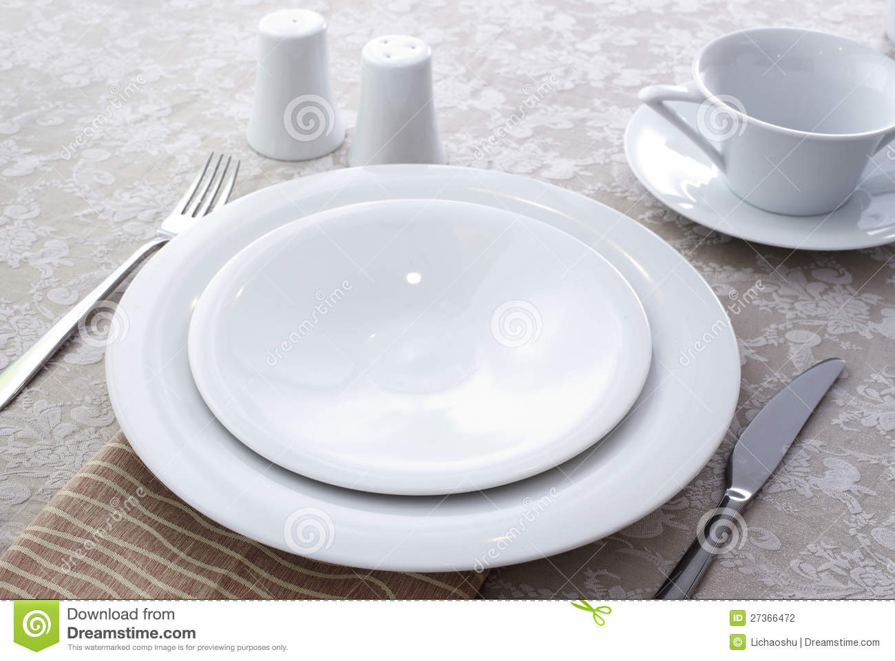 Ceramic Tableware Stock Photo Image Of Flatware Dine