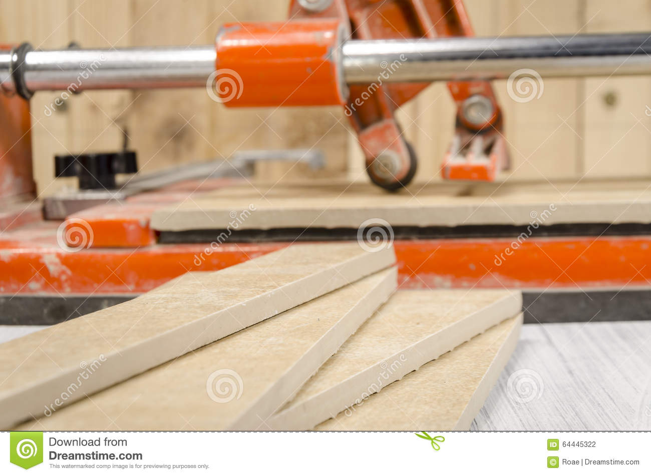 Ceramic tile cutting process stock photo image 64445322 ceramic tile cutting process dailygadgetfo Image collections