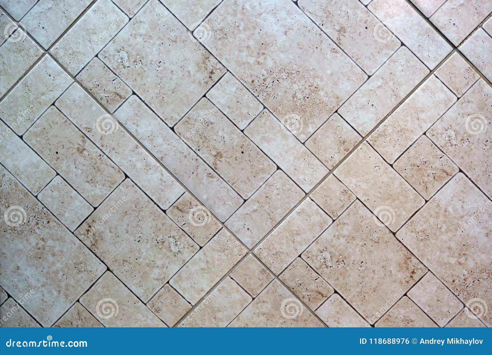 Ceramic Tile Dark Square Seamless Texture Gray Tile Flooring Stock