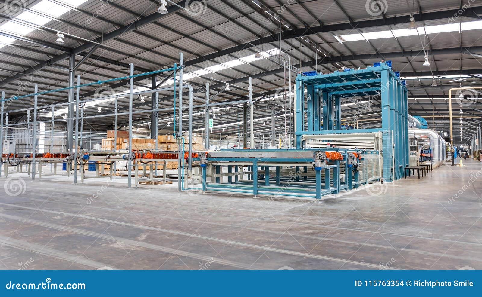 Ceramic Tile Manufacturing Plant Editorial Stock Image Image Of
