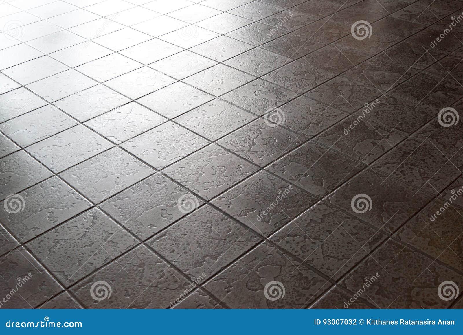 Ceramic Tile Surface Floor Dark Stone Pattern Stock Photo Image