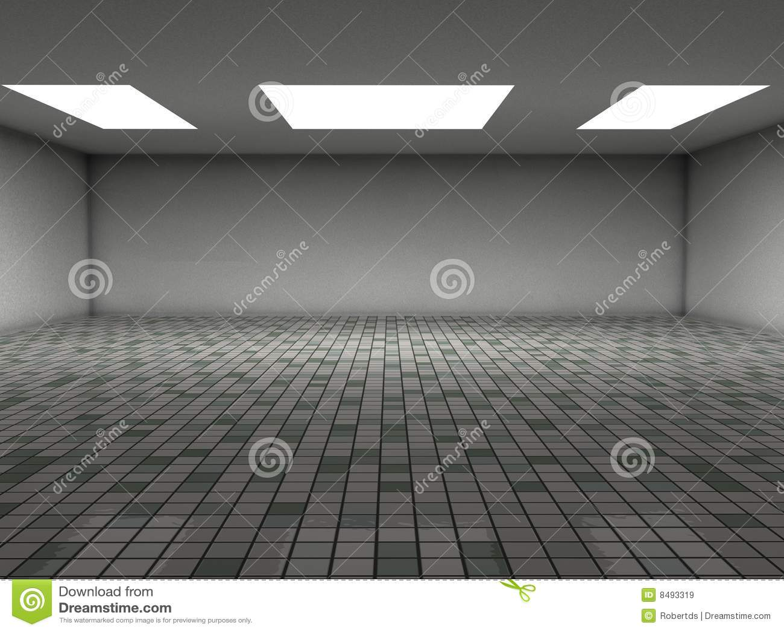 Ceramic tiles room