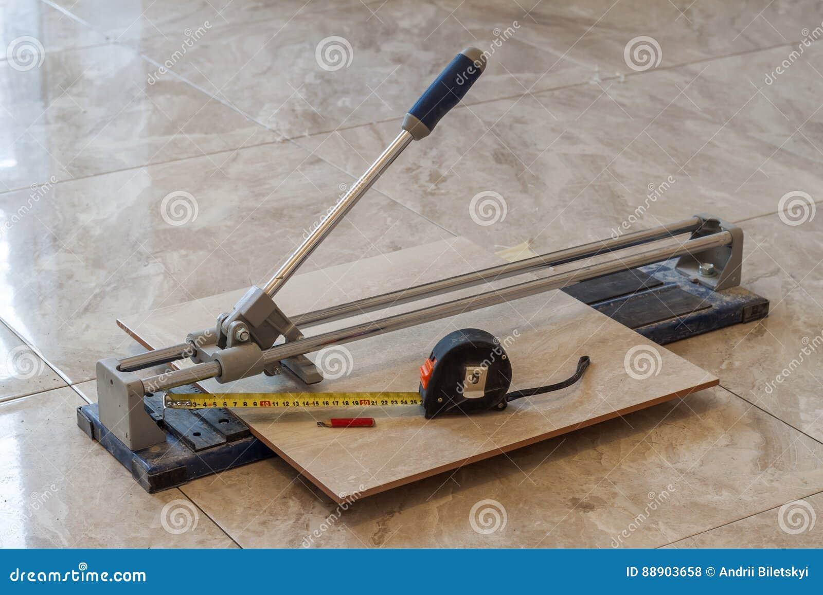 Ceramic Tiles And Tools For Tiler Floor Tiles Installation Hom