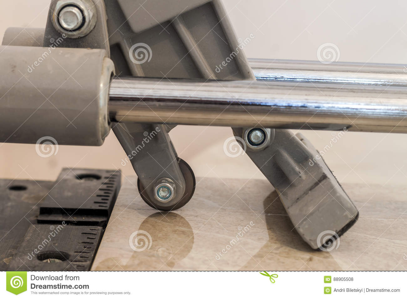 Ceramic tiles and tools for tiler floor tiles installation hom royalty free stock photo dailygadgetfo Gallery