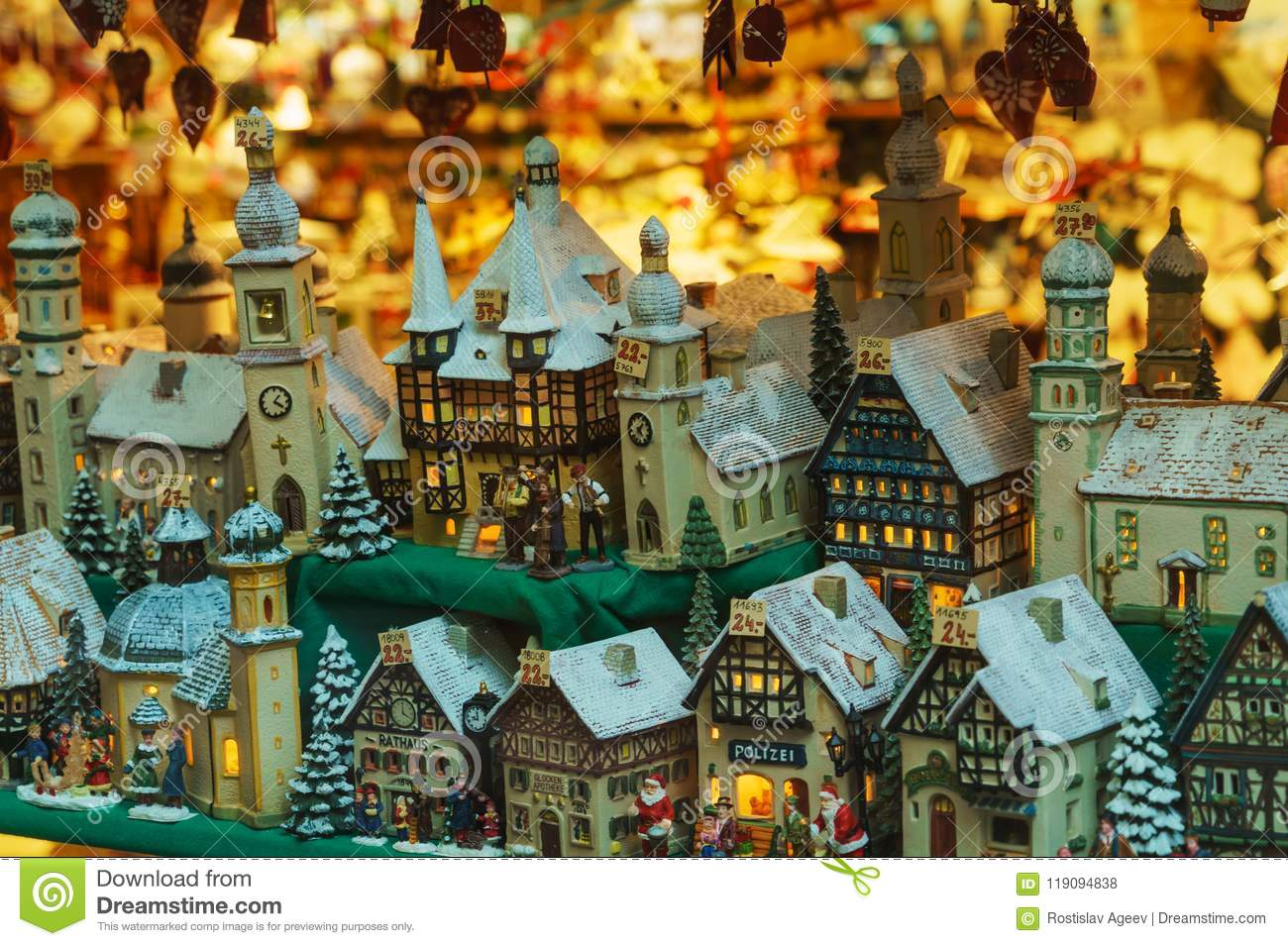 ceramic toy houses for christmas traditional souvenirs from sa