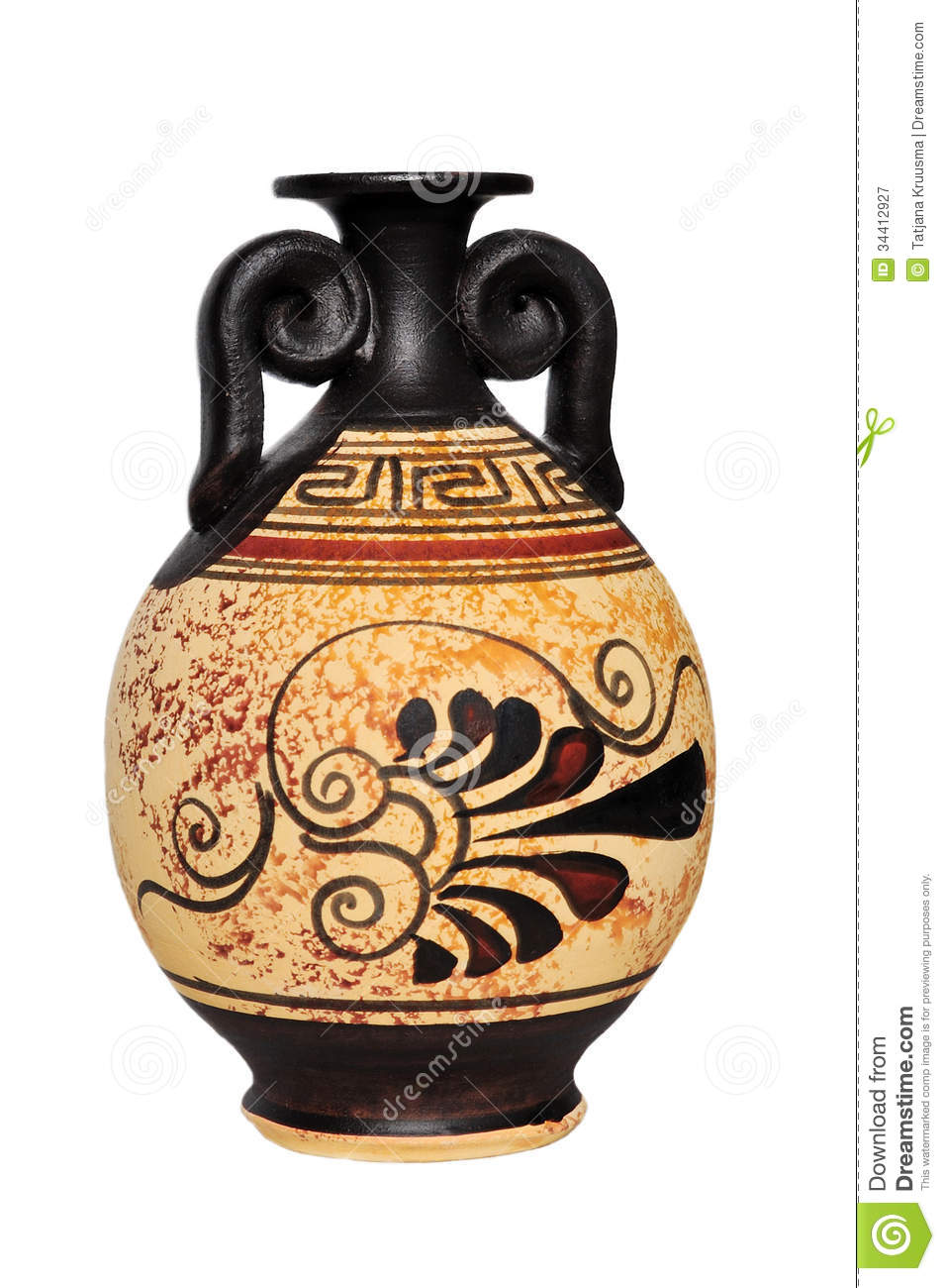 Ceramic Vase Royalty Free Stock Photography Image 34412927