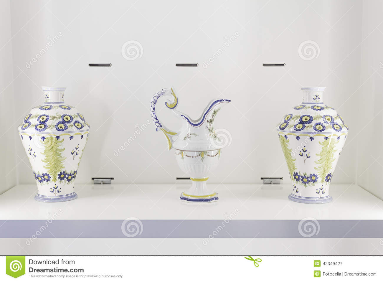 Ceramic Vases Design Stock Photo Image 42349427