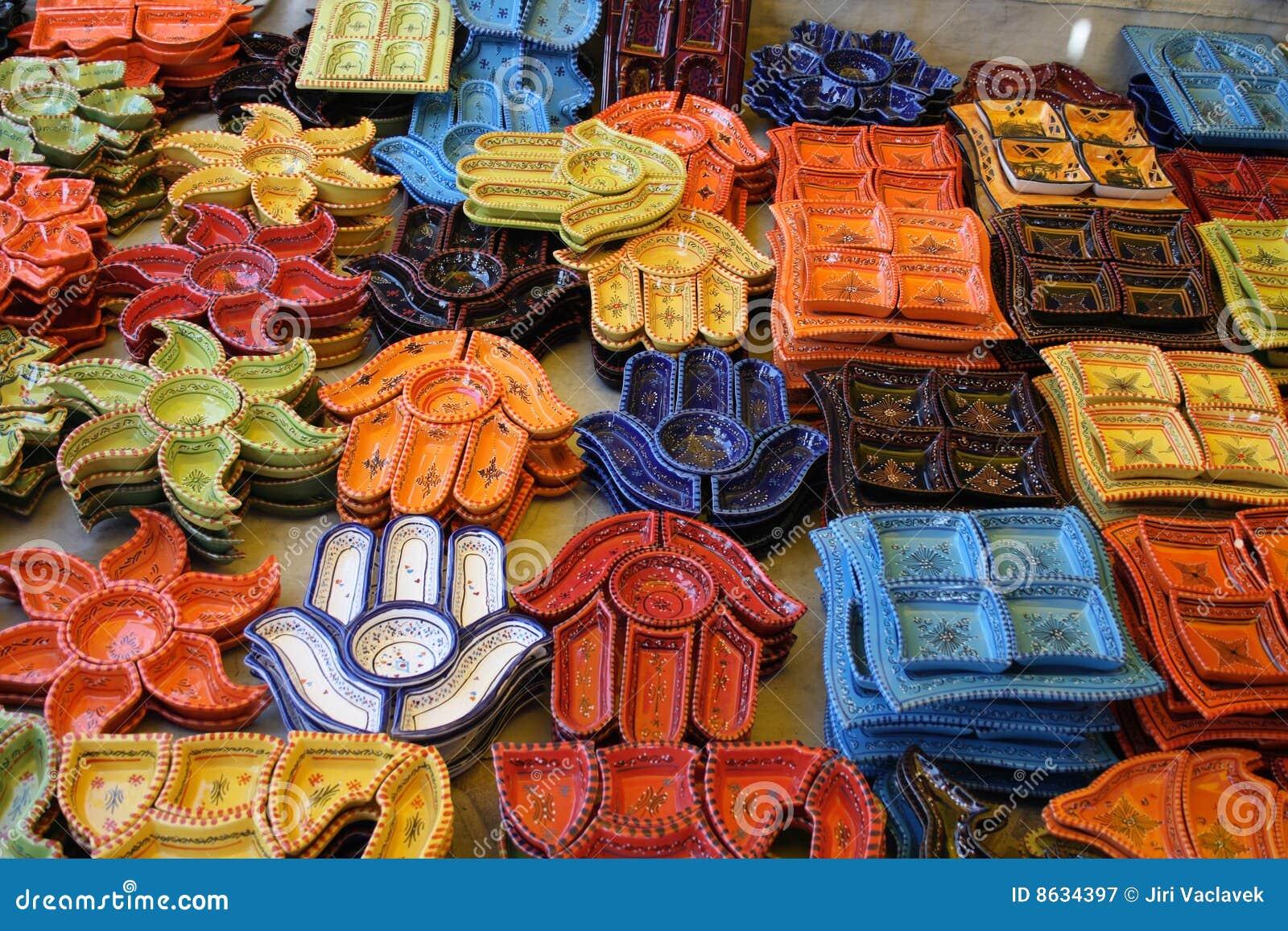 Ceramica Tunisina Fotografia Stock Libera Da Diritti