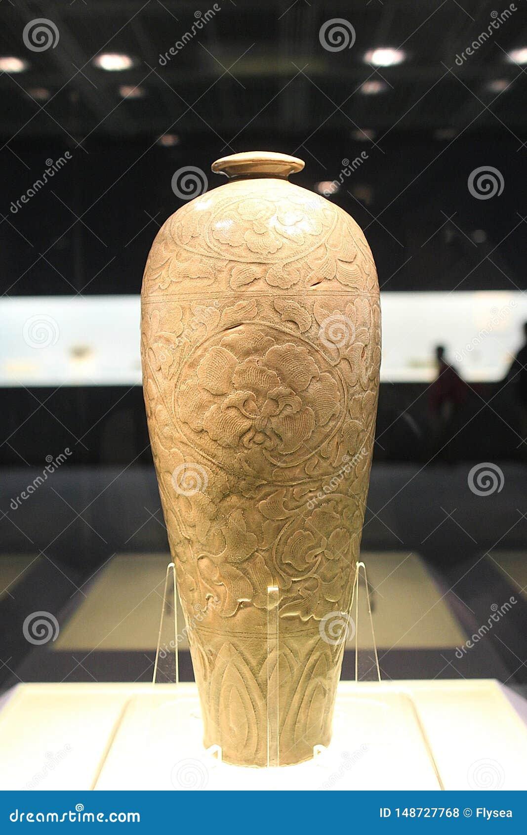 Ceramics In Shanghai Museum 8-8 Editorial Stock Photo - Image of