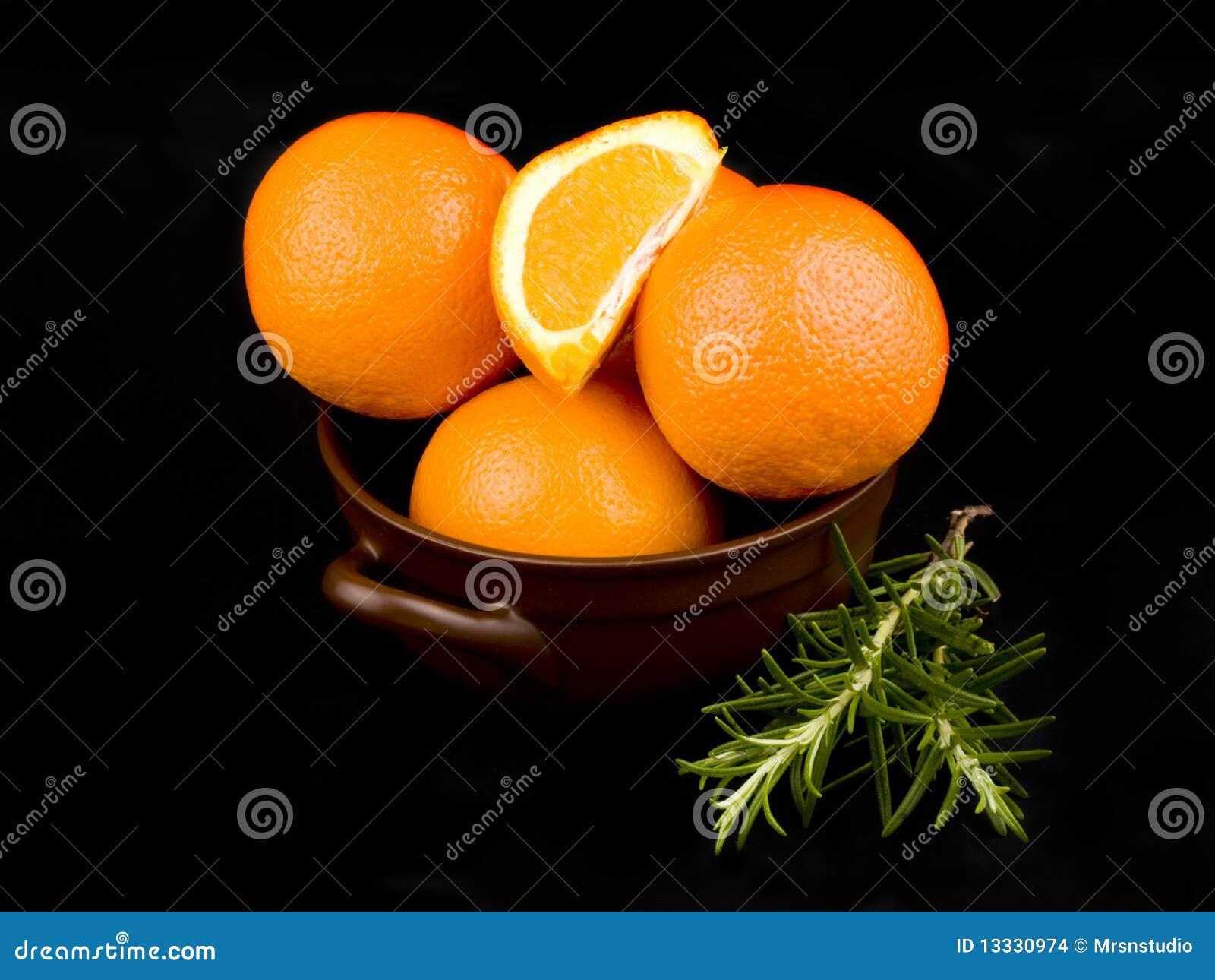 Ceramiczne puchar pomarańcze