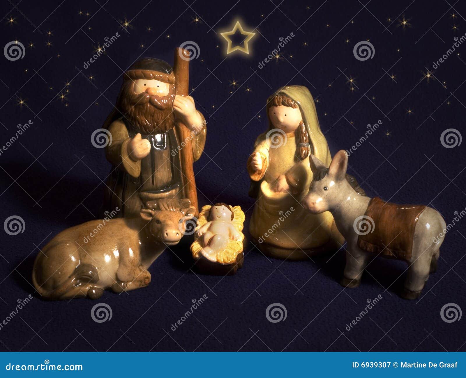 Ceramiczni boże narodzenia
