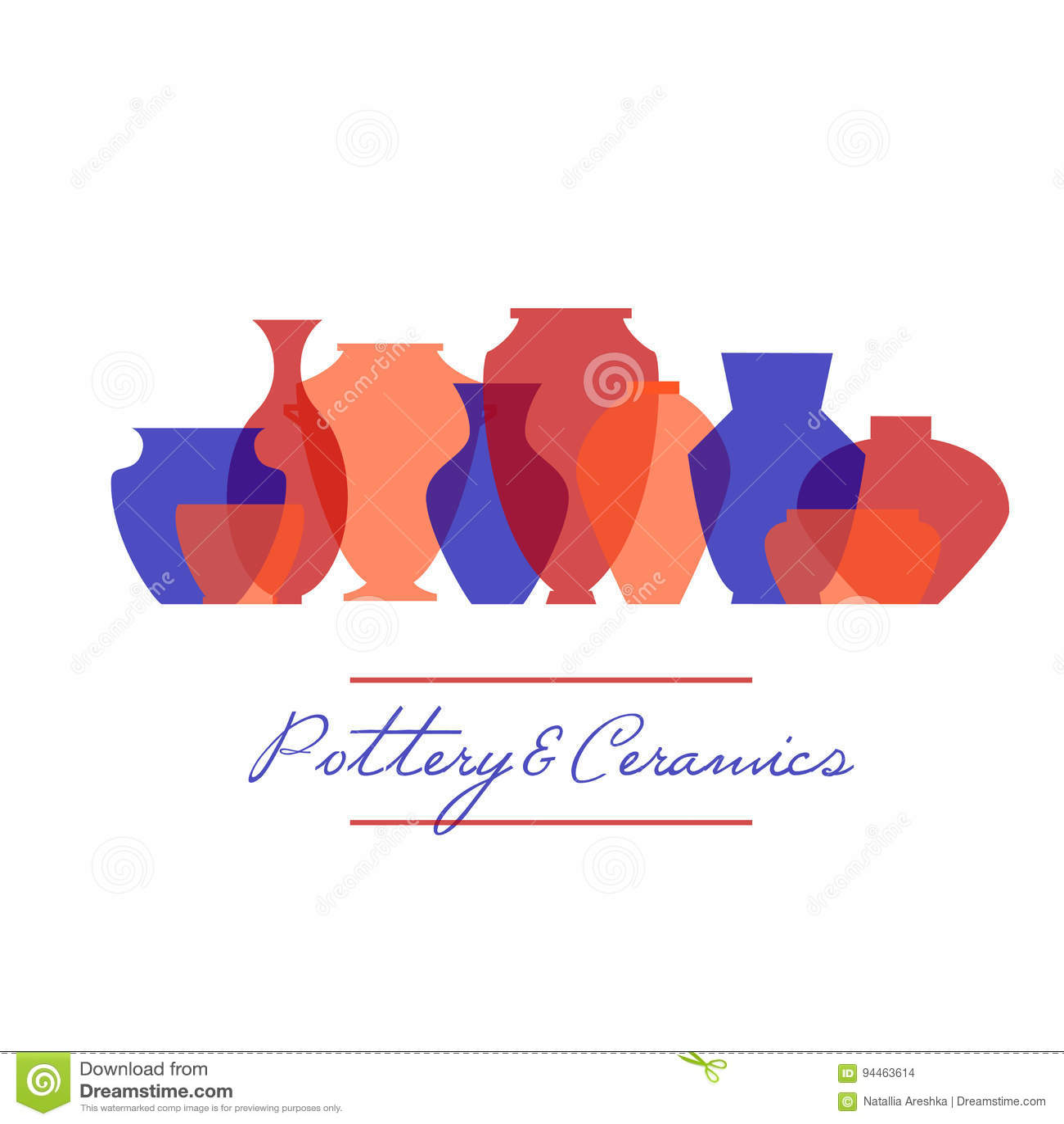 Ceramiczny ikona set
