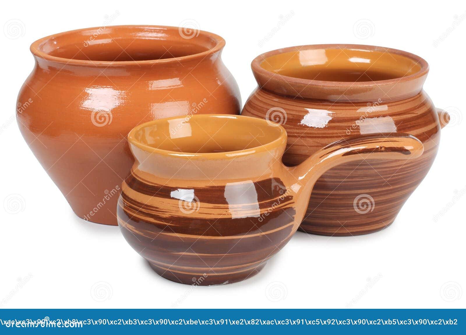 Ceramische pot drie